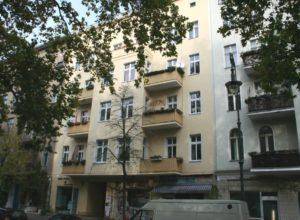 Residential and commercial building in Berlin-Kreuzberg