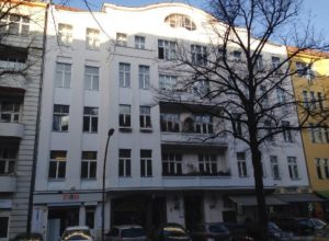 Residential and commercial building in Berlin-Charlottenburg