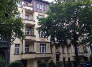 Residential and commercial building in Berlin-Friedenau