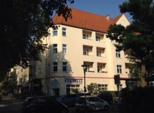 Residential and commercial building in Berlin-Steglitz