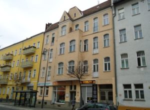 Residential and commercial building in Berlin-Lichtenberg