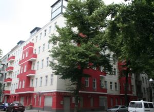 Residential and commercial building in Berlin-Neukölln